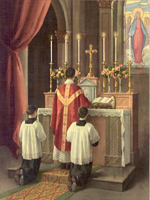 Prayers at the Foot of the Altar, in the Tridentine Mass