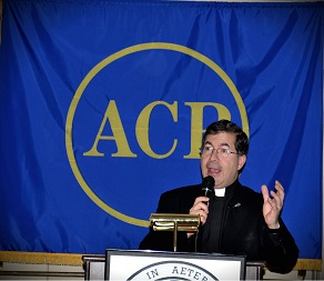 Father Pavone, speaking