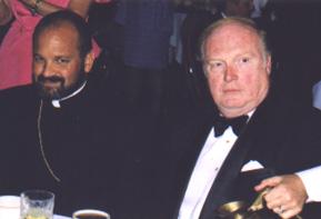 Archimandrite Demetri Kantzavelos and Neil Hartigan