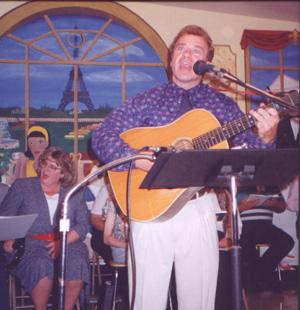 Dan Schutte singing