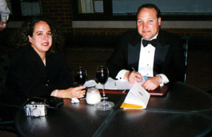 Heidi and Doug Cipriano, outside