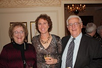 Mary Moutvic, Dr Margaret Wasz, and Bill Chmela