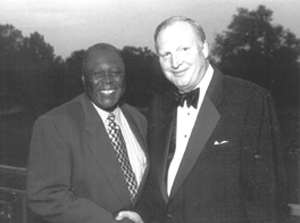 President John Stroger (left) and David Hartigan (right)