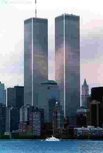 Twin Towers of the New York World Trade Center