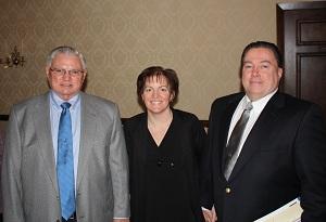 Mike Yukich, Kathleen Yukich, and Patrick McGeary