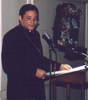 Bishop Joseph Perry at 1999 Benefit