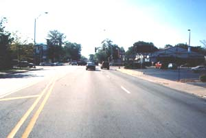 Eastbound on 183, approaching Western