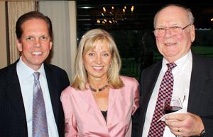 Jerry Bern, Margaret Skurka, and Jim Braden.