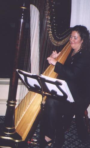 Nancy Dunagan, harpist