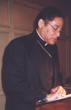 Bishop Joseph Perry at 2004 Benefit