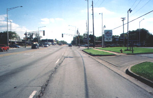 Approaching 183rd Street, South on Halsted