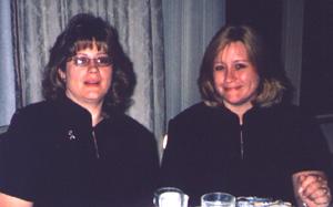 Julie Savant Galvin and Lisa Savant Cameron