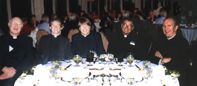 Father Pierre Barr and other priests