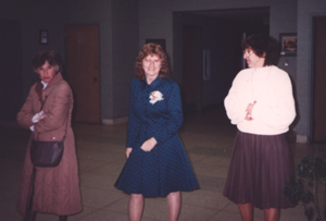 Mary Ellen Chesbro, Joan Termini, and Jeanette Dandurand