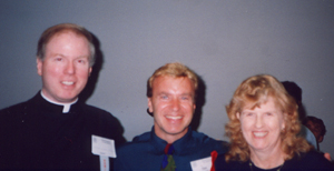 Father Gilligan, Dan Schutte, and Joan Termini