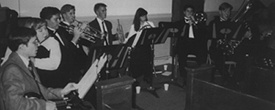 Marian Catholic Brass Ensemble at the 1992 Hymnfest