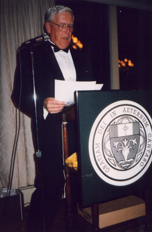 Dan Ryan, Master of Ceremonies for the 1997 ACP Benefit