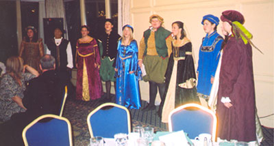 Madrigal Choir from Marian High School