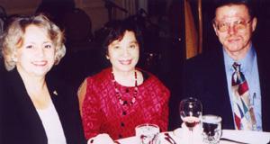 Carol Eisenhuth with Mila & Bob Nelson