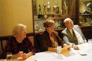 Joan Braden, Rosann Conroy, and Ed Waymel