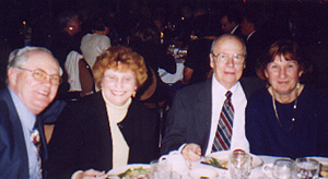 Dave & Pat Thompson; Ed & Joan Waymel