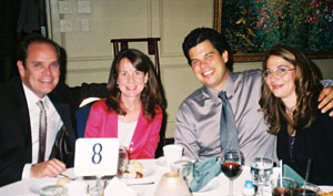 Bob & Colleen Gilligan with Will & Denise Perry