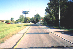Exit ramp I-294, eastbound
