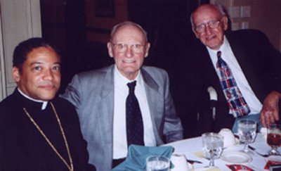 Bishop Perry, Jack Collins, and Jack Mahoney