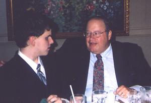 Patrick Wood and Ed Savant