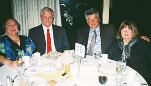 Mary Ann & Tony Veeneman and Dr. Sal & Maureen Rinella