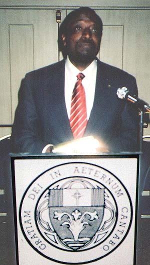Ambassador Alan Keyes
