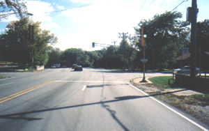 Dixie Highway at intersection with Flossmoor Road
