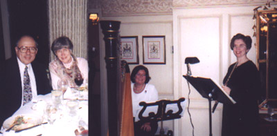 Jim & Helen Silvia, with Nancy Dunagan and Anna Belle O'Shea