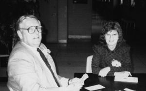 Dan Ryan and Joan Termini