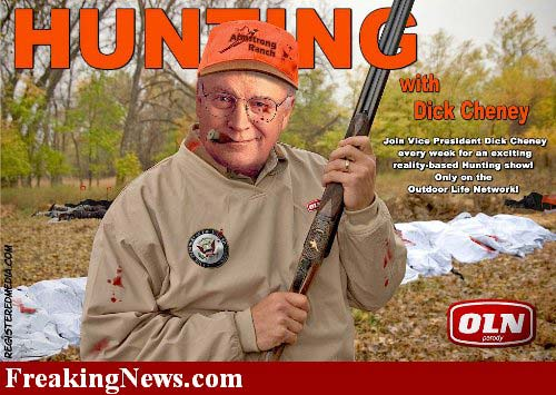 Cheney, at the ready