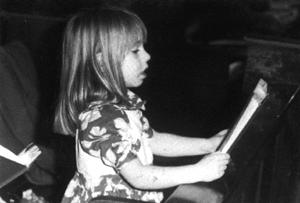 Katie Zagone, age 4